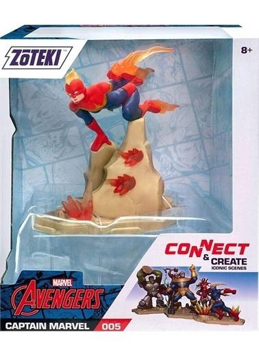 Hasbro Zoteki Avengers Tekli Figür Captain Marvel Renkli